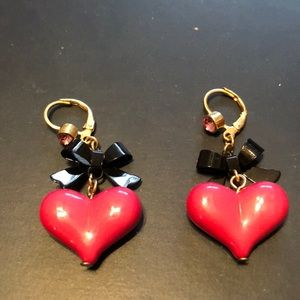 Betsey Johnson Jewelry - Betsey Johnson earrings